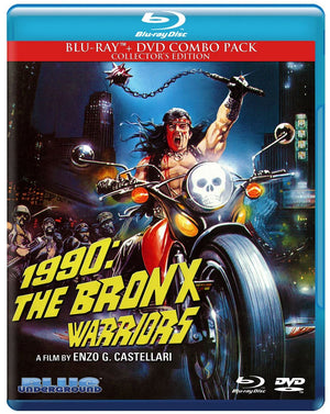 1990: The Bronx Warriors - 2 Disc Blu Ray - Lmited Edition - Enzo G Castellari