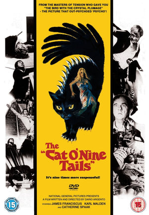 The Cat O'Nine Tails - DVD - (Uncut) - Dario Argento