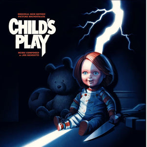 Child's Play - 2 x LP Complete Score - (Coloured Vinyl) - Limited Edition - Joe Renzetti