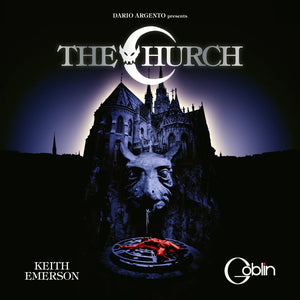 The Church - Original Score - (Gatefold Vinyl) - Limited Edition - Goblin / Keith Emerson