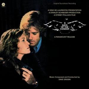 3 Days Of The Condor - Complete Score - (Gold Vinyl) - Limited 1000 Copies - Dave Grusin