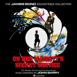 On Her Majesty's Secret Service - 2 x CD Complete Score - Special Edition - John Barry