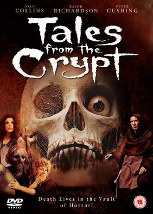 Tales From The Crypt - DVD - (Uncut) - Region Free - Freddie Francis