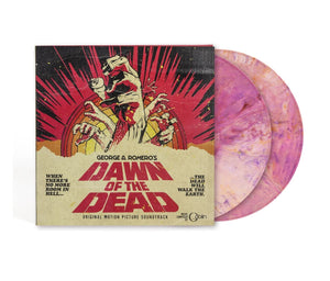 Dawn Of The Dead - 2 x LP Complete Score - (Sunrise Vinyl) - Limited Edition - Goblin