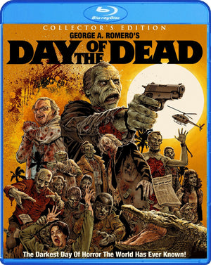 Day Of The Dead - Collector's Edition Blu-Ray - George Romero