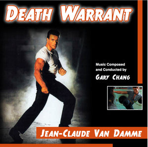 Death Warrant - Complete Score - Limited 2000 Copies - Gary Chang