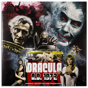 Dracula AD 1972 - Complete Score - (Gatefold Vinyl) - Limited 1000 Copies - Mike Vickers