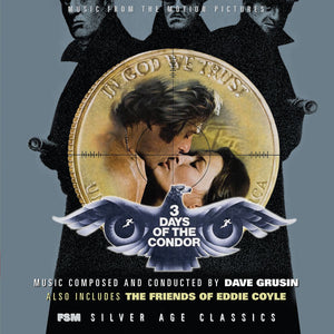 3 Days Of The Condor / The Friends Of Eddie Coyle - Complete Scores - Limited Edition - Dave Grusin