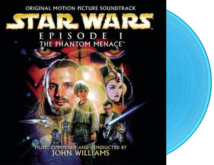 Star Wars The Phantom Menace - 2 x LP Original Score - (Blue Vinyl) - Limited 300 Copies - John Williams