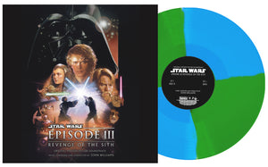 Star Wars Revenge Of The Sith - 2 x LP Original Score - (Green / Opaque Vinyl) - Limited 1000 Copies - John Williams
