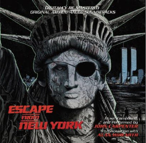 Escape From New York - 2 x CD Expanded Score - John Carpenter / Alan Howarth