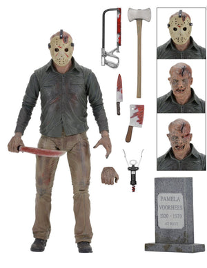 "Jason Vorhees Part 4 - 7"" Ultimate Scale Figure + Accessories - Limited Edition - NECA"