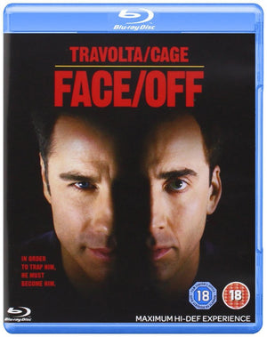 Face Off - Blu-Ray - Special Edition - Region 2 - John Woo