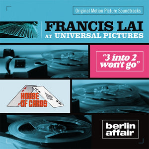 Francis Lai At Universal Pictures - 2 x CD Complete / Unreleased Scores  - Francis Lai