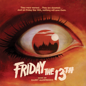 Friday The 13th - Complete Score - Red Vinyl - Limited 1000 Copies  - Harry Manfredini