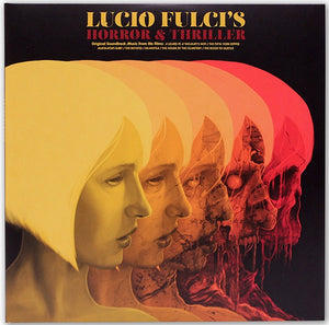 Lucio Fulci's Horror Collection - 2 x LP Coloured Vinyl  - Fabio Frizzi