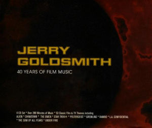 Jerry Goldsmith - 40 Years Of Film Music - 4CD Boxset - Jerry Goldsmith