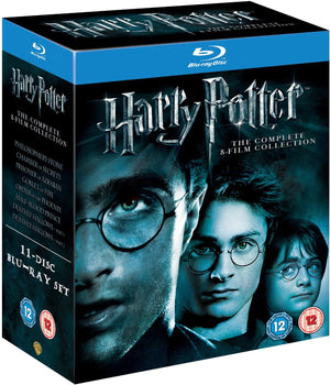 Harry Potter - Complete 11 Disc Blu-Ray Boxset - Chris Columbus