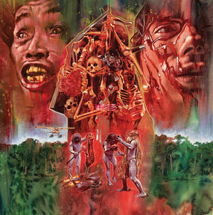 Cannibal Holocaust - Original Score - Red Vinyl  - Riz Ortolani