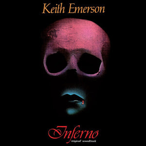 Inferno - Original Score + Poster - (Red Vinyl) - Limited Edition - Keith Emerson
