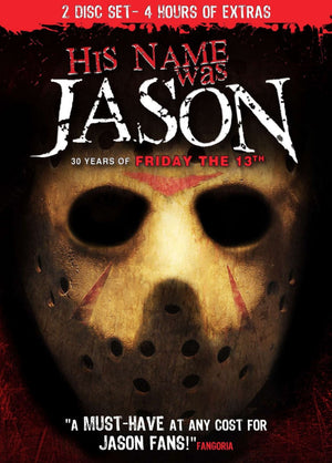 His Name Was Jason - 2 Disc DVD - Special Edition - Jason Vorhees