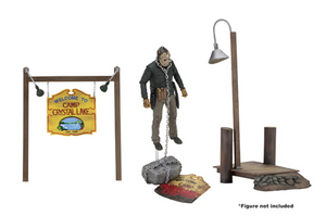 Friday The 13th - Camp Crystal Lake Set + Accessories - Limited Edition - NECA