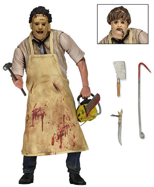 "Leatherface - 7"" Scale Figure - 40th Anniversary Edition - NECA"