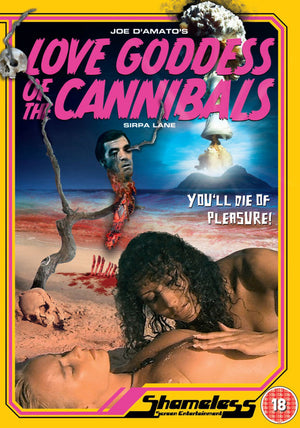 Love Goddess Of The Cannibals - DVD - (Uncut) - Jess Franco