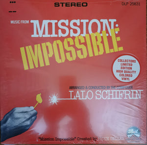Mission Impossible - Original TV Score - (Coloured Vinyl) - Limited Edition - Lalo Schifrin