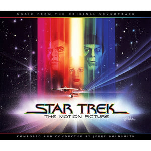 Star Trek The Motion Picture - 3 x CD Complete Score - Jerry Goldsmith