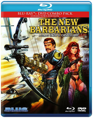 The New Barbarians - 2 Disc Blu-Ray - Limited Edition - Enzo G Castellari