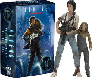 "Aliens - 7"" Scale Figure Ripley & Newt - 30th Anniversary - Limited Edition - NECA"
