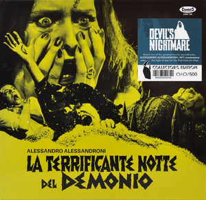Devil's Nightmare - Complete Score - Hand Numbered 500 Copies - Alessandro Alessandroni