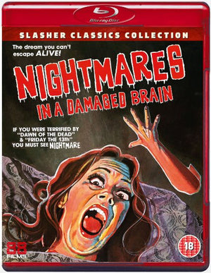 Nightmares In A Damaged Brain - Blu-Ray - (Uncut) - Special Edition - Romano Scavolini