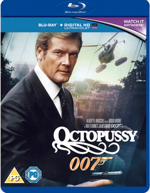 Octopussy - Blu-Ray + Digital Download - Special Edition - Martin Campbell