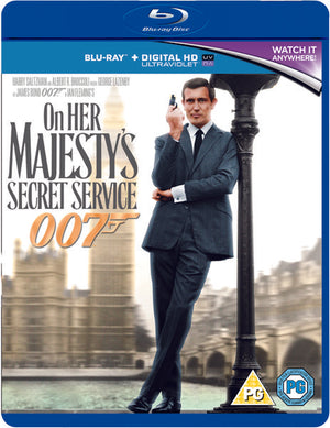 On Her Majesty's Secret Service - Blu-Ray + Digital Download - Special Edition - Peter Hunt