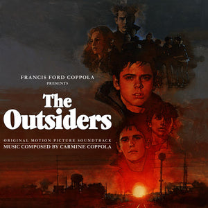 The Outsiders - 2 x Coloured Vinyl - Original Score - Carmine Coppola