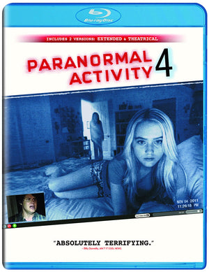 Paranormal Activity 4 - Blu-Ray - Extended Edition - Henry Joost