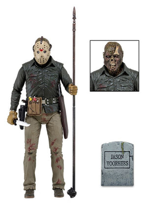 "Jason Vorhees Part 6 - 7"" Ultimate Scale Figure + Accessories - Limited Edition - NECA"