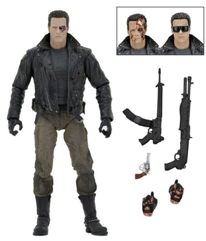 "Terminator - T800 Police Staion- 7"" Scale Figure - Limited Edition - NECA"