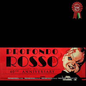Profondo Rosso - 40th Anniversary 2CD + 1LP Edition - Limited 500 Copies - Goblin / Giorgio Gaslini