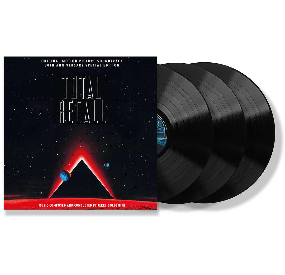 Total Recall - 3 x LP Expanded Score - Limited 1000 Copies - Jerry Goldsmith