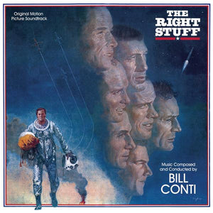 The Right Stuff - Original Score - (Blue Vinyl) - Limited Edition - Bill Conti