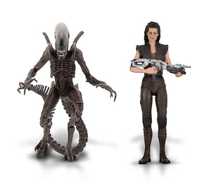 "Aliens - 7"" Scale Figures Ripley / Warrior - Series 14 - Limited Edition - NECA"