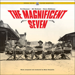 The Magnificent Seven - 2 x LP Complete Score - (Gatefold Vinyl) - Limited Edition - Elmer Bernstein