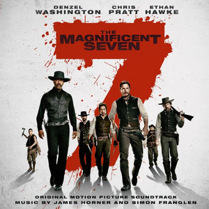 The Magnificent Seven - 2 x LP Expanded Score - (Red Vinyl) - Limited 500 Copies - James Horner