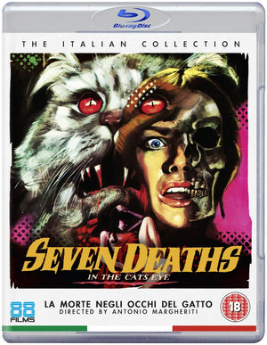Seven Deaths Of The Cats Eye - Blu-Ray - (Uncut) - Special Edition - Antonio Margheritti