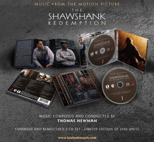 The Shawshank Redemption - 2 x CD Complete - Limited 3500 Copies - Thomas Newman