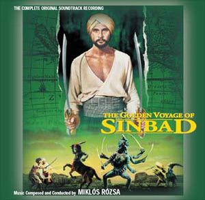 The Golden Voyage Of Sinbad - 2 x CD Complete Score  - Miklos Rozsa