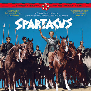 Spartacus - 2 x CD Complete Score - Limited Edition - Alex North